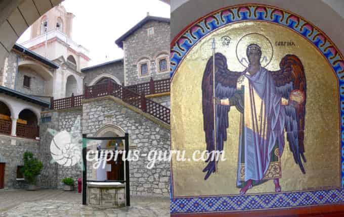 Мозаика с образом святого Гавриила