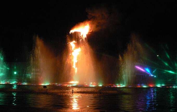 огненный финал шоу