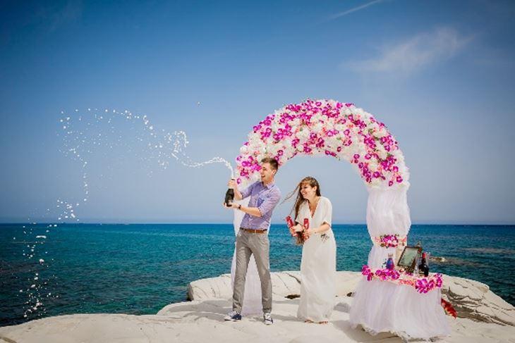Свадьба на Кипре в медовый месяц