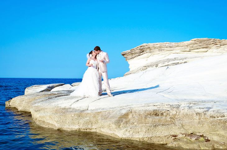Официальная свадебная церемония на Кипре