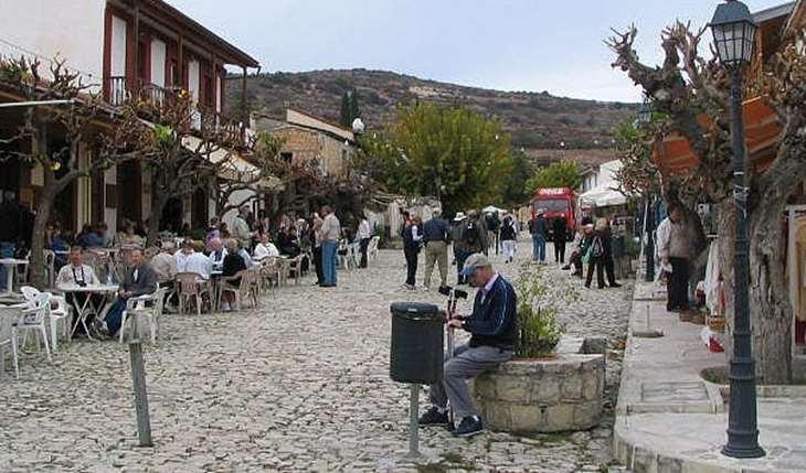 Уникальная деревня Омодоса