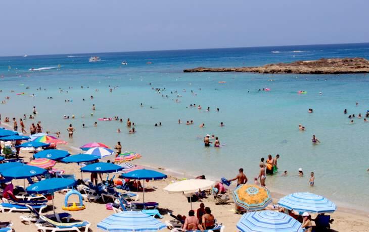 отдых на пляже в Протарасе