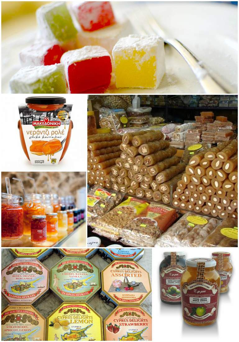 сладости с Кипра