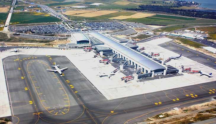 територия ларнакского аэропорта