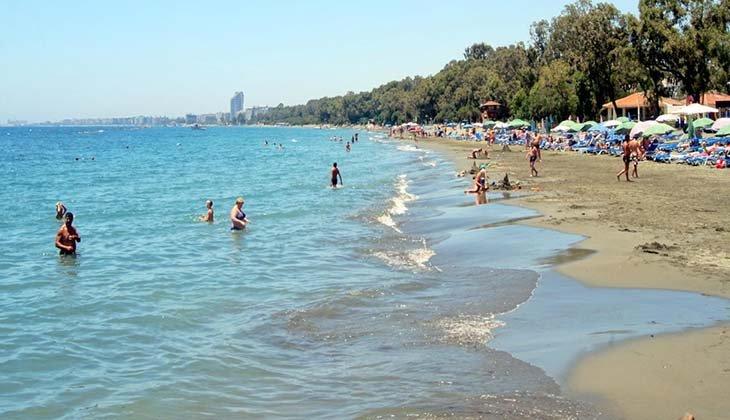 городской пляж Дасуди пляжи Лимассола Популярные пляжи Лимассола limassol beach2