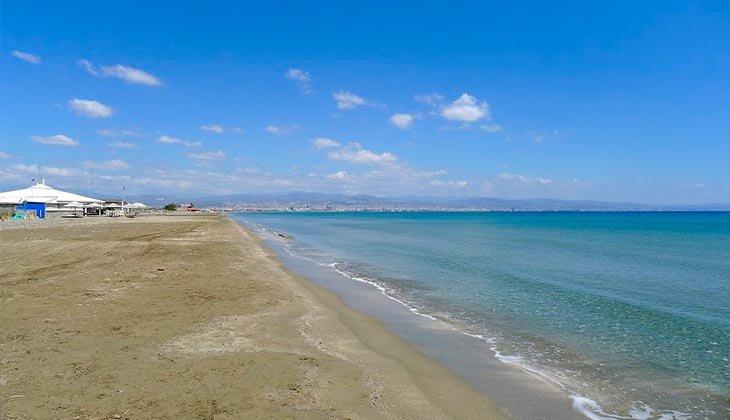 Пляж Дамская миля пляжи Лимассола Популярные пляжи Лимассола limassol beach7