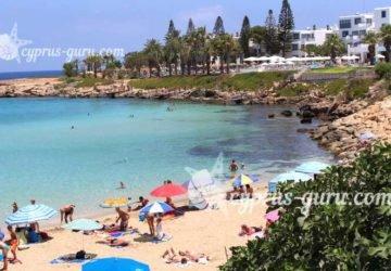 лучший пляж для отдыха на Кипре в 2018 году