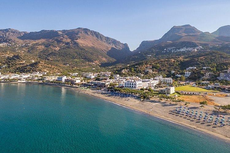 пляж острова Крит острова Греции 15 лучших островов Греции для отдыха Crete beach hotel 1