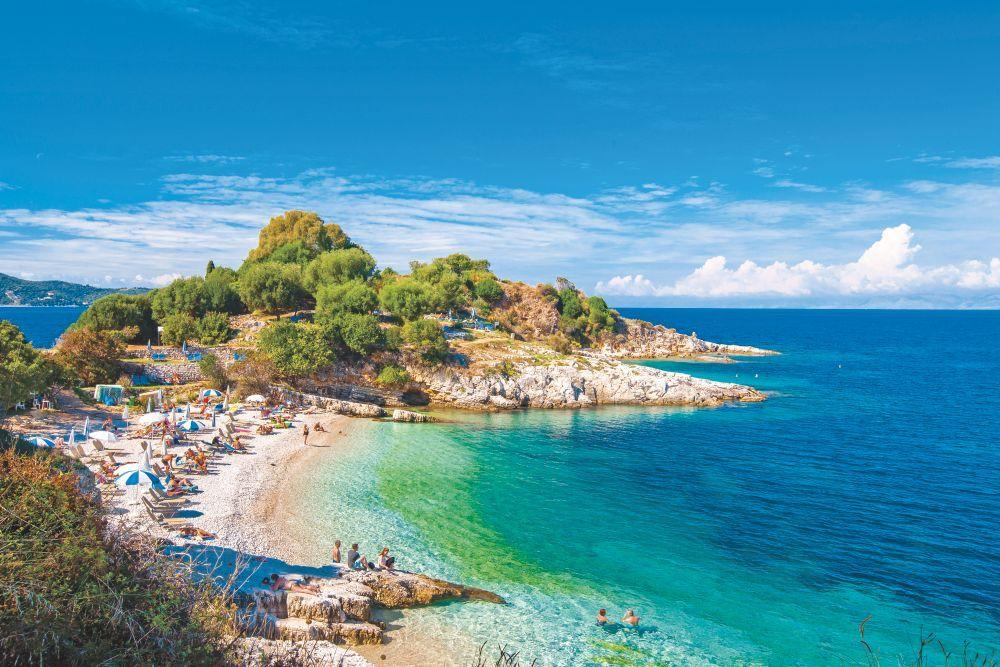 Корфу острова Греции 15 лучших островов Греции для отдыха corfu 1