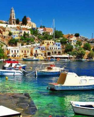 греция летом