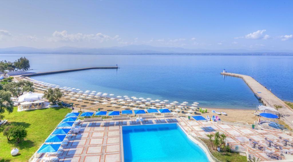 пляж на острове эвия острова Греции 15 лучших островов Греции для отдыха ostrov eviya otel plyazh 1