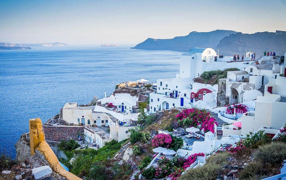 отели Санторини острова Греции 15 лучших островов Греции для отдыха santorini 1