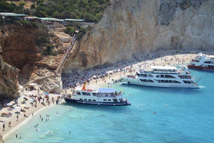 пляж острова Лефкада острова Греции 15 лучших островов Греции для отдыха Lefkada island Greece 1 e1522917140437