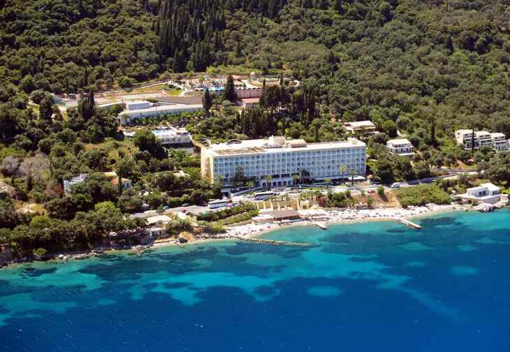 пляж острова Корфу