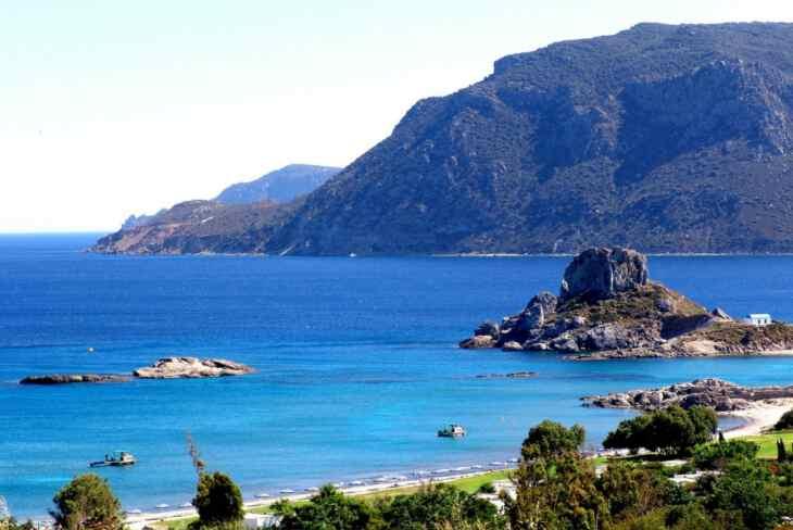 побережье Кос