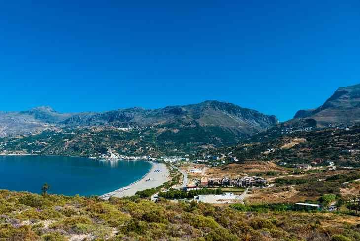 пляж Крита