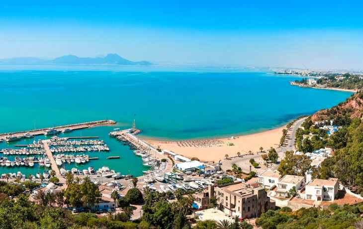 отдых на пляжах Туниса