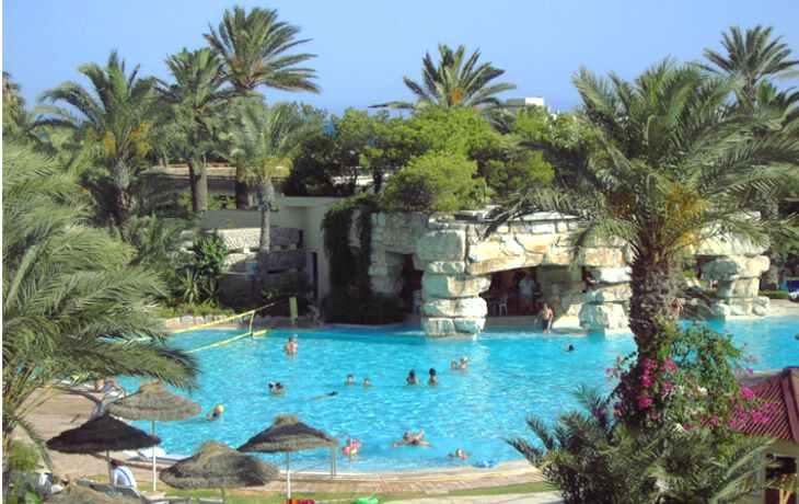 лето в Тунисе