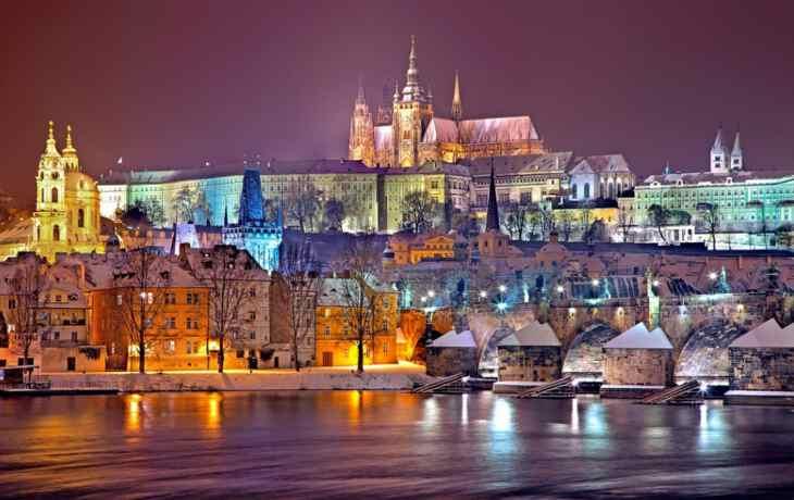 Прага на Новый год 2020