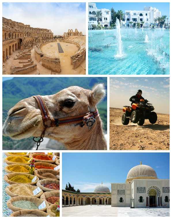 достопримечательности Туниса зимой