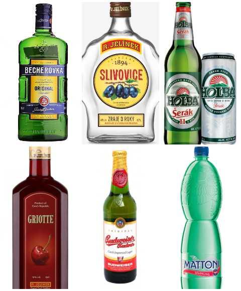 чешские напитки
