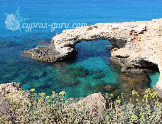 Мост Влюбленных на Кипре